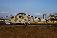 Helicopter-DataBase Photo ID:15476 Mi-24V 172nd Independent Combat Helicopter Regiment 18 red cn:3532423810137