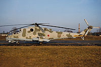 Helicopter-DataBase Photo ID:15477 Mi-24V 172nd Independent Combat Helicopter Regiment 19 red cn:3532421809296