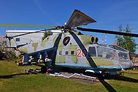 Helicopter-DataBase Photo ID:17181 Mi-24A Aviation Museum Riga 20 red cn:2201407