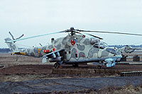 Helicopter-DataBase Photo ID:15451 Mi-24K 485th Independent Combat Helicopter Regiment 21 orange cn:3532013711576