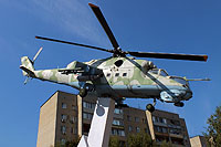 Helicopter-DataBase Photo ID:16392 Mi-24V unknown 21 white