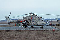Helicopter-DataBase Photo ID:15452 Mi-24RCh 485th Independent Combat Helicopter Regiment 23 orange cn:3534623712148