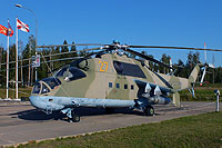 Helicopter-DataBase Photo ID:16390 Mi-24P Park Patriot 27 yellow cn:3532434216904