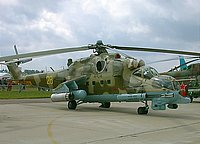 Helicopter-DataBase Photo ID:1142 Mi-24PN Russian Army Aviation 28 yellow