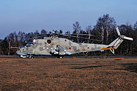 Helicopter-DataBase Photo ID:15636 Mi-24P 172nd Independent Combat Helicopter Regiment 32 red cn:3532434319546