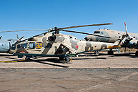Helicopter-DataBase Photo ID:11192 Mi-24A South African Air Force Museum AFB Swartkop 34 yellow cn:4202034