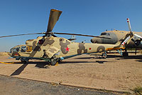 Helicopter-DataBase Photo ID:12195 Mi-24A South African Air Force Museum AFB Swartkop 34 yellow cn:4202034