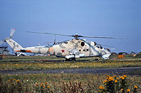 Helicopter-DataBase Photo ID:15454 Mi-24V 336th Independent Combat Helicopter Regiment 35 orange cn:3532423218618