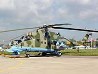 Helicopter-DataBase Photo ID:798 Mi-24PN Russian Army Aviation 36 yellow cn:353243..26731