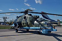 Helicopter-DataBase Photo ID:6374 Mi-24PN Russian Army Aviation 36 yellow cn:353243..26731