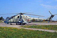 Helicopter-DataBase Photo ID:15622 Mi-24V 55th Independent Helicopter Regiment 36 yellow