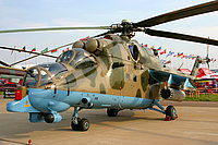 Helicopter-DataBase Photo ID:2160 Mi-24PN Russian Army Aviation 37 yellow cn:353243..24976