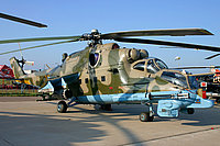 Helicopter-DataBase Photo ID:2161 Mi-24PN Russian Army Aviation 37 yellow cn:353243..24976