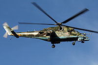 Helicopter-DataBase Photo ID:7215 Mi-24PN Russian Air Force 40 red