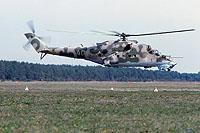 Helicopter-DataBase Photo ID:15446 Mi-24V 337th Independent Combat Helicopter Regiment 40 yellow cn:3532421319109