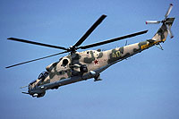 Helicopter-DataBase Photo ID:16965 Mi-24V 337th Independent Combat Helicopter Regiment 40 yellow cn:3532421319109