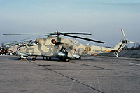 Helicopter-DataBase Photo ID:15623 Mi-24V 55th Independent Helicopter Regiment 41 orange
