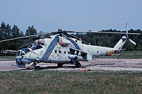 Helicopter-DataBase Photo ID:15440 Mi-24K 9th Independent Helicopter Squadron 42 red cn:3532014511058