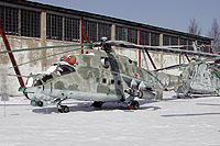 Helicopter-DataBase Photo ID:6370 Mi-24V Museum Monino 44 white cn:3532424015897