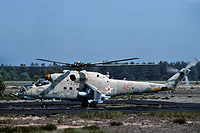 Helicopter-DataBase Photo ID:15493 Mi-24RCh 113th Independent Helicopter Squadron 45 orange cn:3534624611809
