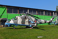 Helicopter-DataBase Photo ID:16391 Mi-24V Museum Monino 46 white