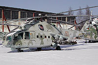 Helicopter-DataBase Photo ID:6368 Mi-24A Museum Monino 50 red cn:2201201