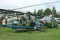 Helicopter-DataBase Photo ID:9992 Mi-24A Museum Monino 50 red cn:2201201