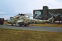 Helicopter-DataBase Photo ID:15517 Mi-24RCh 199th Independent Helicopter Squadron 62 red cn:3534624511468
