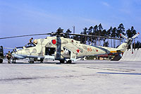 Helicopter-DataBase Photo ID:12513 Mi-24RCh 199th Independent Helicopter Squadron 63 red cn:3534624511429