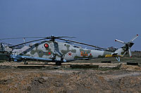 Helicopter-DataBase Photo ID:15620 Mi-24V 485th Independent Combat Helicopter Regiment 64 orange cn:3532421319063