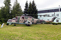 Helicopter-DataBase Photo ID:12312 Mi-24D ARZ No 121 Kubinka 70 red