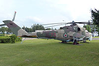 Helicopter-DataBase Photo ID:13982 Mi-24D ARZ No 121 Kubinka 70 red