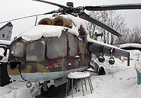 Helicopter-DataBase Photo ID:6372 Mi-24A Aviation Museum of Mikhail Pavlov
