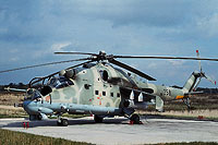 Helicopter-DataBase Photo ID:16891 Mi-24P Combat Helicopter Regiment 5 358 cn:340331