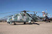 Helicopter-DataBase Photo ID:10682 Mi-24D Pima Air & Space Museum 406 cn:B4002