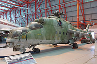 Helicopter-DataBase Photo ID:13260 Mi-24D Imperial War Museum 96+21 cn:B4002