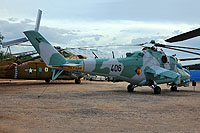 Helicopter-DataBase Photo ID:15647 Mi-24D Pima Air & Space Museum 406 cn:B4002