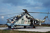 Helicopter-DataBase Photo ID:16889 Mi-24P Combat Helicopter Regiment 5 464 cn:340339