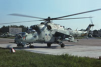 Helicopter-DataBase Photo ID:1221 Mi-24D Heeresfliegerstaffel Ost 96+12 cn:340269