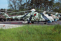 Helicopter-DataBase Photo ID:1222 Mi-24D Heeresfliegerstaffel Ost 96+16 cn:730208
