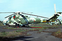 Helicopter-DataBase Photo ID:1141 Mi-24D Heeresfliegerstaffel Ost 96+17 cn:730211