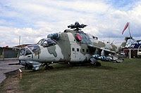 Helicopter-DataBase Photo ID:16823 Mi-24D The International Helicopter Museum 96+26 cn:110159