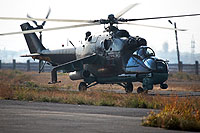 Helicopter-DataBase Photo ID:11536 Mi-24P Armenian Air Force 40 blue