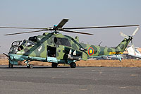 Helicopter-DataBase Photo ID:11540 Mi-24K Armenian Air Force 44 blue