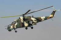 Helicopter-DataBase Photo ID:16465 Mi-24K Armenian Air Force 46 blue