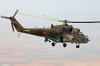 Helicopter-DataBase Photo ID:11538 Mi-24RCh Armenian Air Force 48 blue