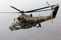 Helicopter-DataBase Photo ID:11539 Mi-24RCh Armenian Air Force 48 blue