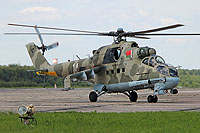 Helicopter-DataBase Photo ID:13104 Mi-24P Belarus Air and Air Defence Force 14 white cn:3532432622869