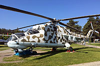 Helicopter-DataBase Photo ID:13386 Mi-24P Central Aeroclub DOSAAF RB - Museum of Aviation Technics 16 red cn:3532433216272