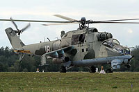 Helicopter-DataBase Photo ID:16057 Mi-24V Belarus Air and Air Defence Force 18 white